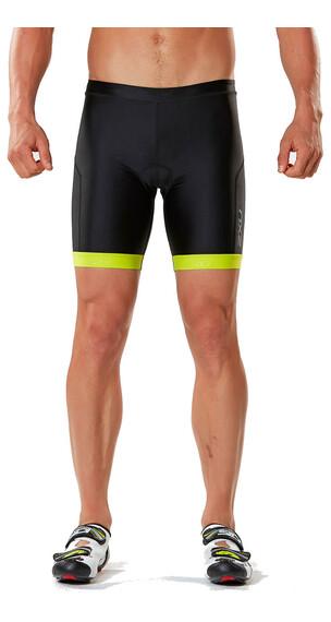 """2XU X-Vent 7"""" Abbigliamento triathlon Uomini giallo/nero"""